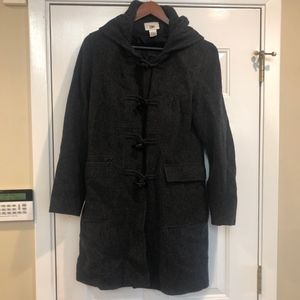 Gray hooded toggle coat - winter warm! - Nordstrom